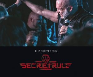 Secret Rule direct support for Blaze Bayley