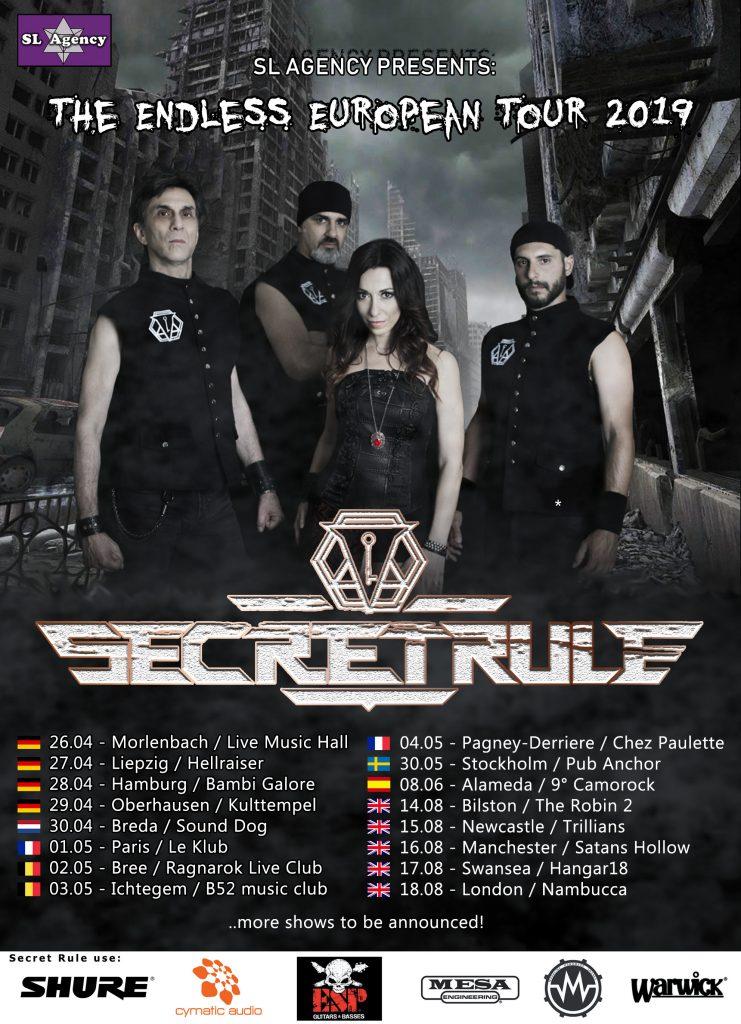 THE ENDLESS EUROPEAN TOUR ANNOUNCED! —